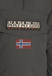 Napapijri - RAINFOREST WINTER - Giacca da mezza stagione - dark grey solid - 5