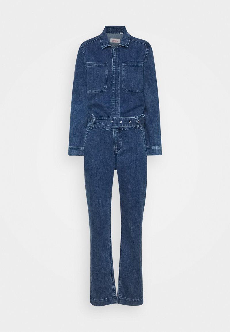 s.Oliver - OVERALL - Jumpsuit - dark blue