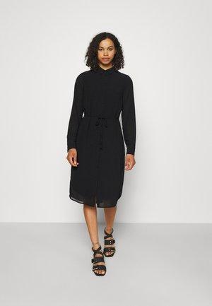 OBJMILA BAY SHIRT DRESS TALL - Jurk - black