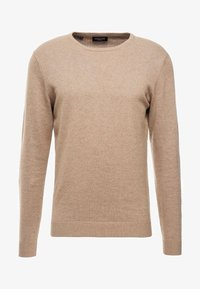 Selected Homme - SLHTOWER CREW NECK  - Stickad tröja - tuffet - 3