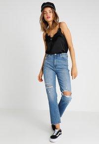 Abrand Jeans - HIGH - Slim fit jeans - blue denim - 1