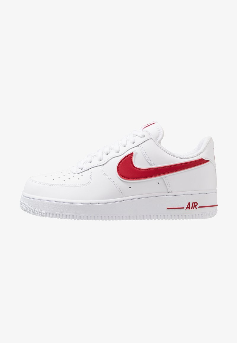 Nike Sportswear - AIR FORCE 1 '07 - Sneakersy niskie - white/gym red