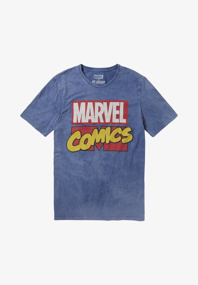 MARVEL COMICS - T-shirt print - blau