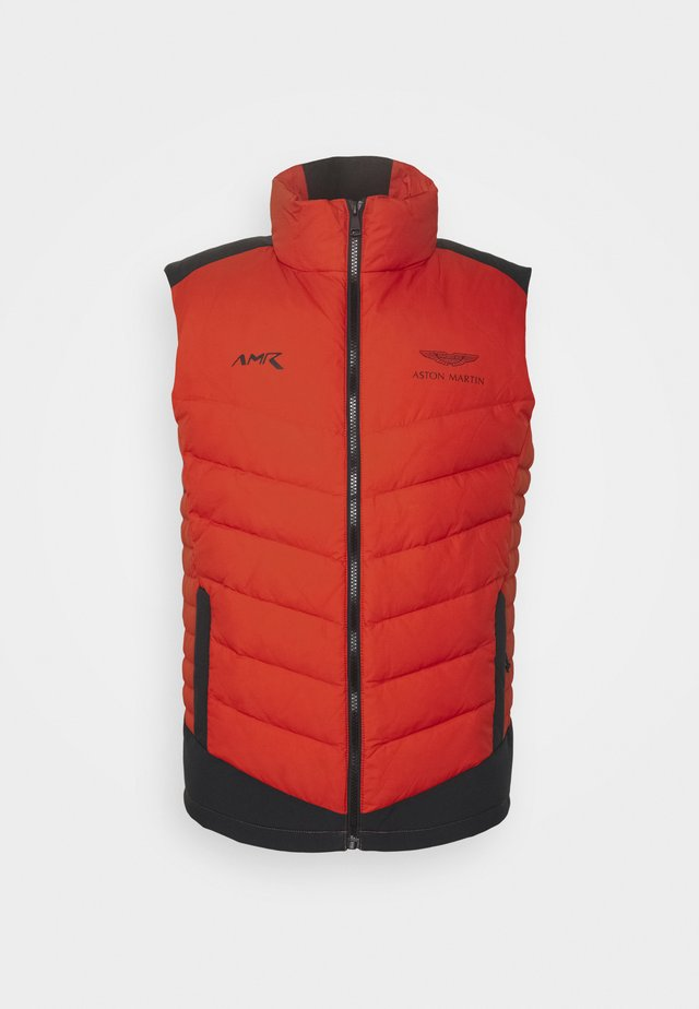 GILET - Weste - burnt orange