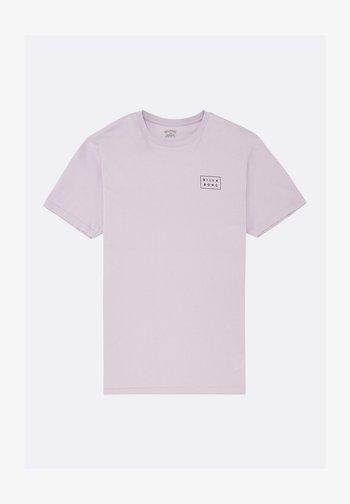 DIE CUT - Print T-shirt - lavender