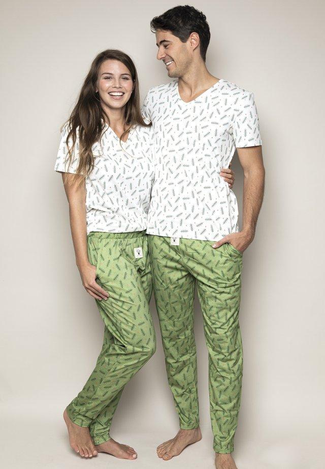 Xmas-Tree - Pyjama - green