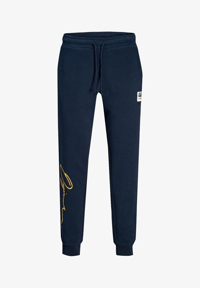 SWEATHOSE STEVEN - Pantalones - navy blazer