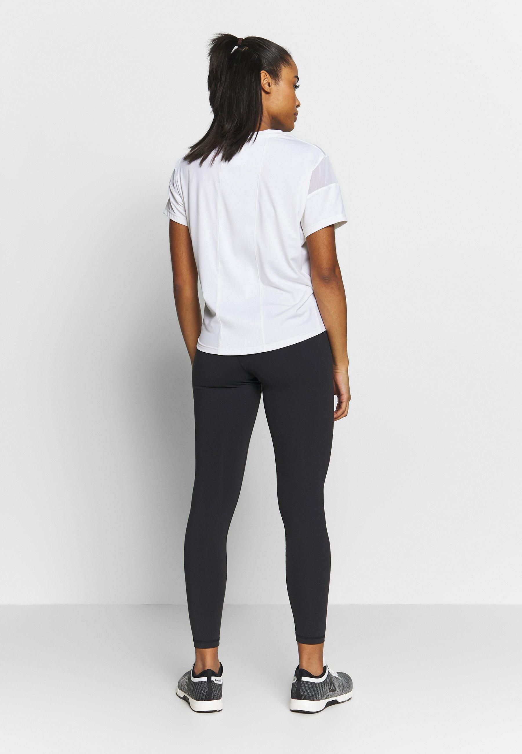 Reebok Y LUX 2.0MATERNITY TIGHT - Leggings - black Wa5Yw