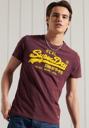 T-shirt print - deep port