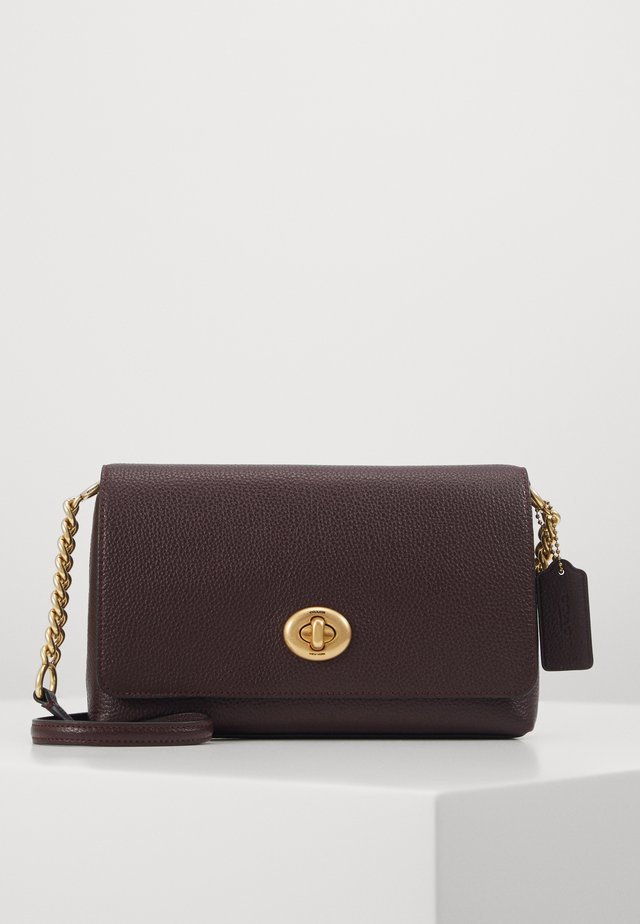 CROSSTOWN CROSSBODY - Schoudertas - oxblood