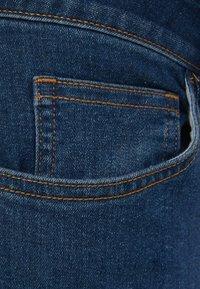 Bershka - Jeans Skinny Fit - dark blue - 5