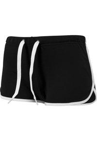 Urban Classics - Shorts - black/white - 2