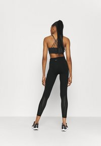 Nike Performance - EPIC LUXE COOL - Tights - black/silver - 2