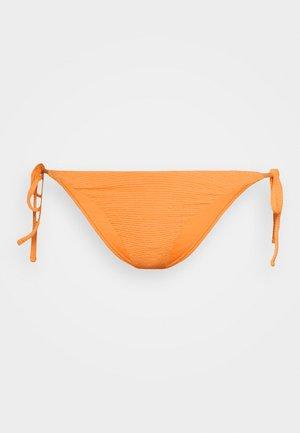 HI LEG TIE SHIRRED PANT - Bikiniunderdel - mango