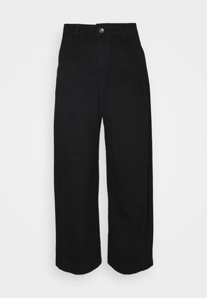 SPONGE PANTS - Jean boyfriend - black