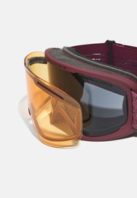 Oakley - FRAME 2.0 PRO XL UNISEX - Laskettelulasit - dark grey/persimmon - 3