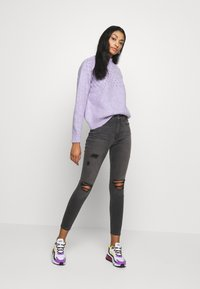Good American - LEGS CROP - Jeans Skinny Fit - black - 1