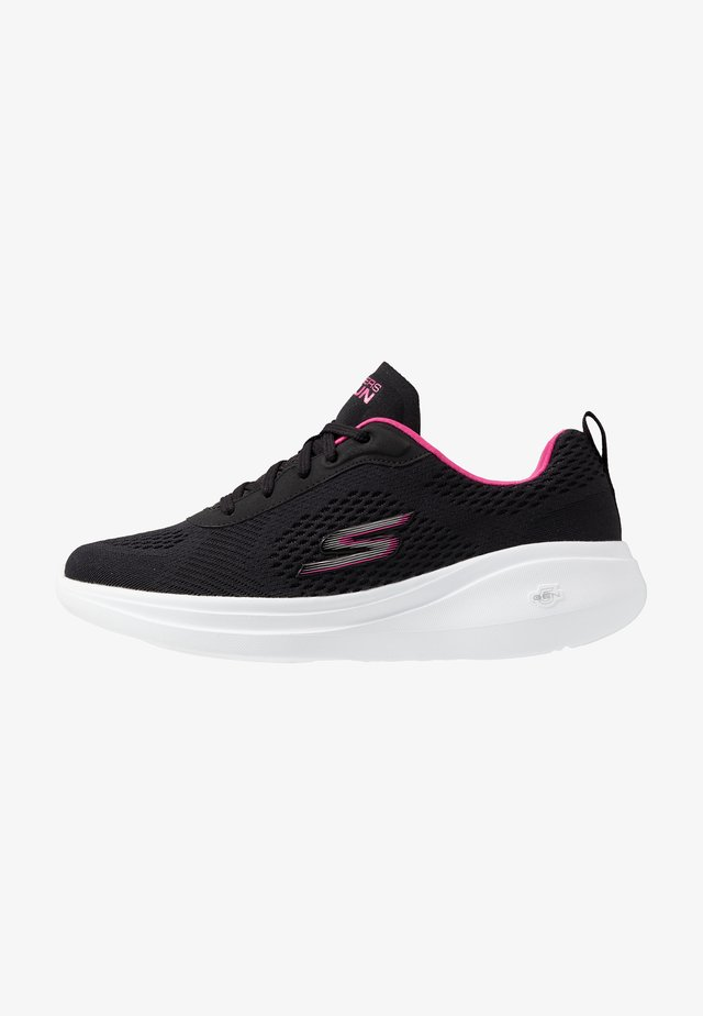 GO RUN FAST - GLIDE - Kävelykengät - black/pink