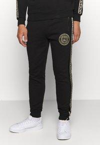 Glorious Gangsta - RODELL JOGGER - Pantaloni sportivi - black/gold - 0