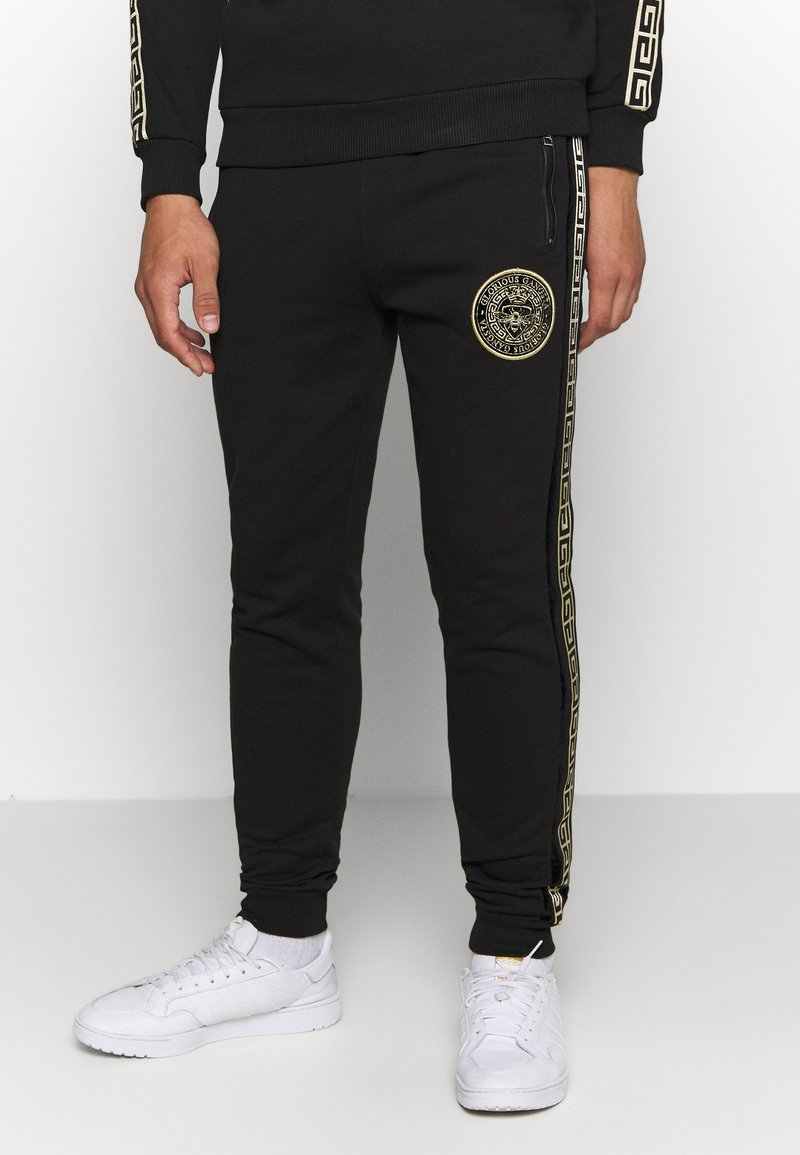Glorious Gangsta - RODELL JOGGER - Pantaloni sportivi - black/gold