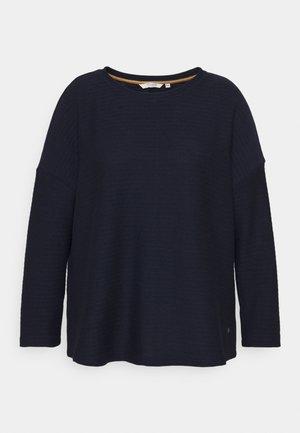 BATWING LOOSE  - T-shirt à manches longues - sky captain blue