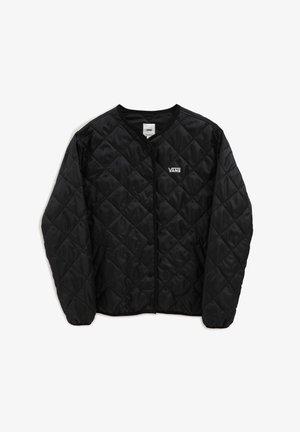WM FORCES QUILTED JACKET - Light jacket - black