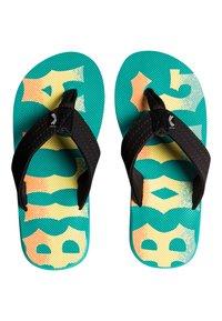 Billabong - ALL DAY THEME - T-bar sandals - mint - 1