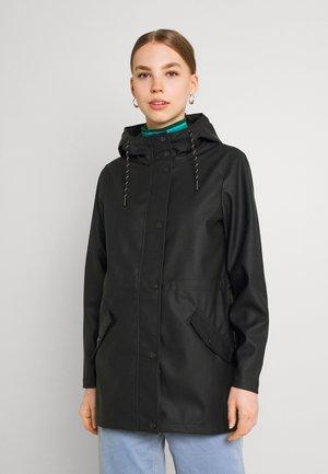 VMMALOU COATED JACKET - Impermeable - black
