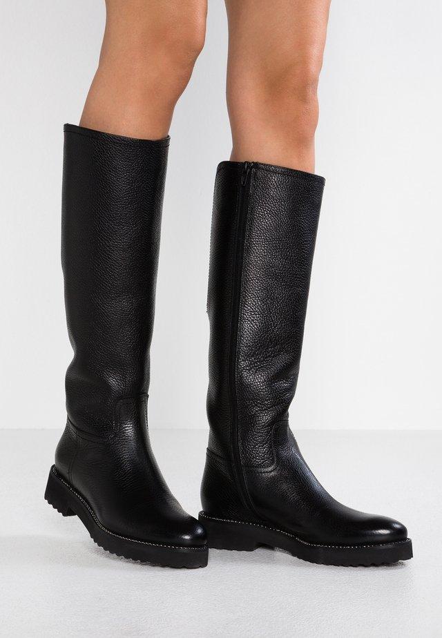 CAPTEN - Stivali alti - botero nero