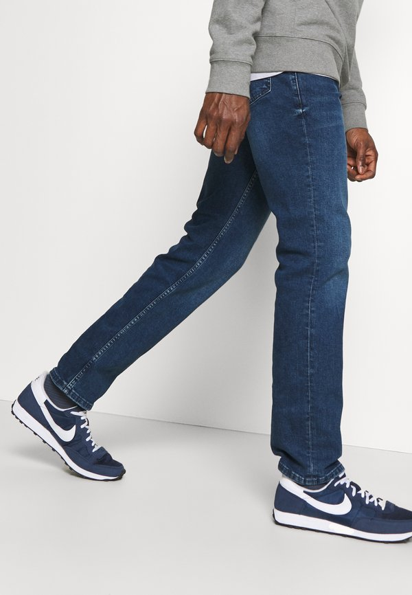 Mustang WASHINGTON - Jeansy Straight Leg - denim blue/niebieski denim Odzież Męska SABP