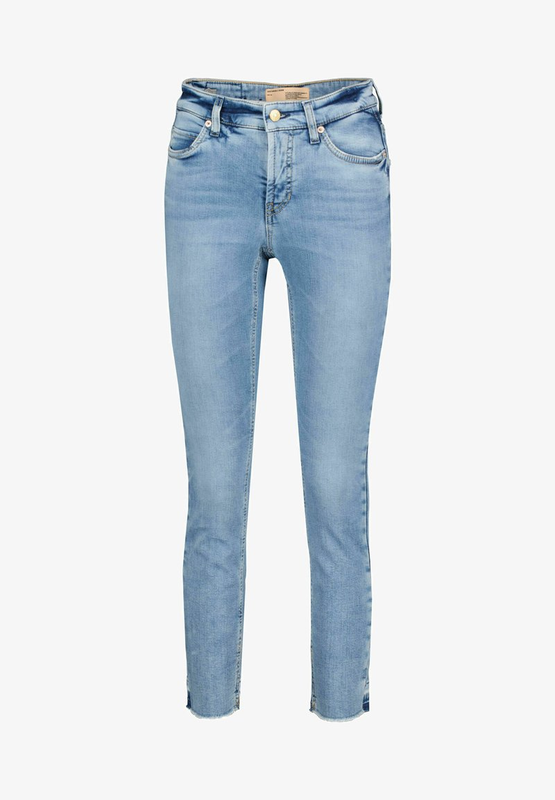 Cambio - PARIS CROPPED - Jeans Skinny Fit - stoned blue