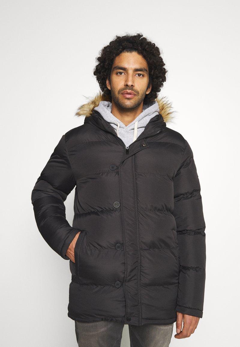 Newport Bay Sailing Club - HEAVY - Winter coat - black