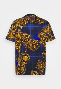 Versace Jeans Couture - Print T-shirt - blu royal/oro - 9