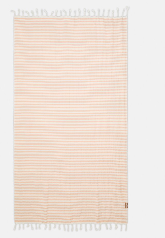 BEACHPLAID STRIPES - Strandaccessories - ecru/coral
