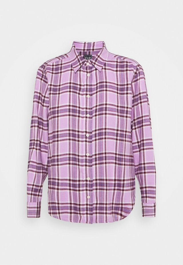 EVERYDAY - Button-down blouse - purple