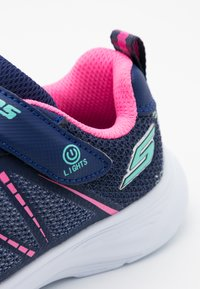 Skechers - GLIMMER KICKS - Trainers - navy