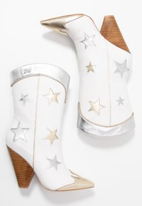 Liu Jo Jeans - GUENDA  - High heeled boots - white - 3