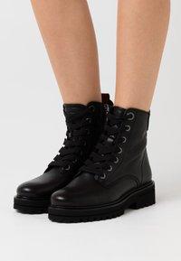 Marc O'Polo - LICIA  - Platform ankle boots - black - 0
