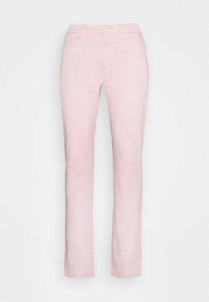 MENS PANTS - Chinos - pink cloud