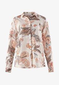 Alba Moda - Button-down blouse - rosé braun - 5