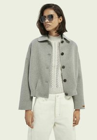 Scotch & Soda - Summer jacket - grey melange - 0