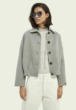 Summer jacket - grey melange