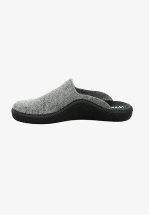 MONACO - Slippers - hellgrau-kombi