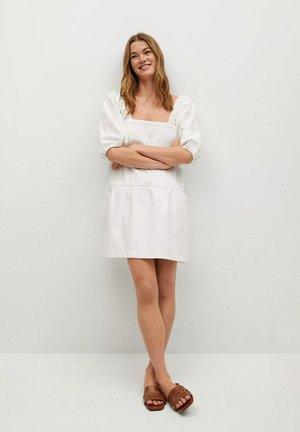 MATHILDA-L - Day dress - wit