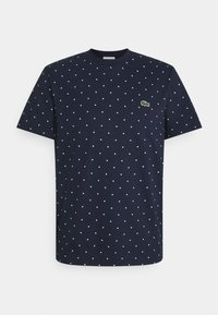 Lacoste - Print T-shirt - navy blue - 0