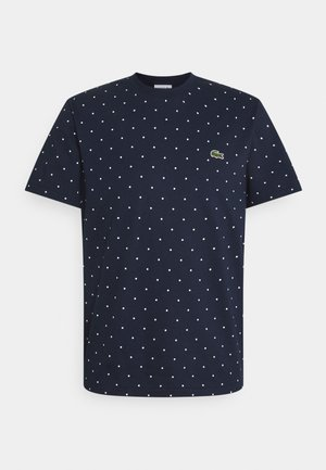 T-shirt med print - navy blue