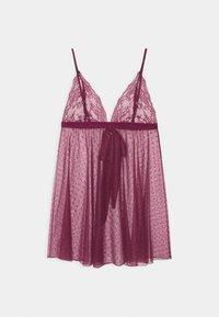 Women Secret - SHORT - Nightie - berry - 1