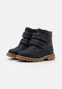 TOM TAILOR - UNISEX - Zimní obuv - navy - 1