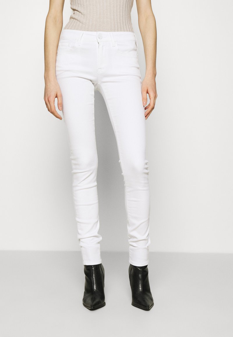 Replay - NEW LUZ PANTS - Jeans Skinny Fit - white