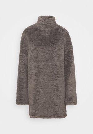 TURTLENECK DRESS - Day dress - steel grey